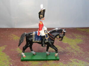 TROPHY MINIATURES   NAPOLEONIC   FRENCH MOUNTED OFFICER