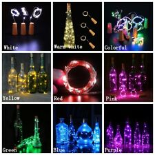 LED Cork with 20 Lights on a String Bottle Stopper Lamp Light Wedding Party Lamp