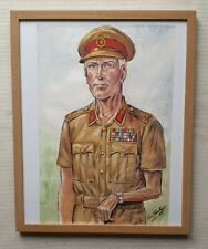 Leo Rawlings 1918-1984 British Colonel original signed water colour painting