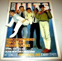 Smash Hits Nov 26, 1981/Soft Cell/Toyah/Haircut 100/Tenpole Tudor/Modern Romance