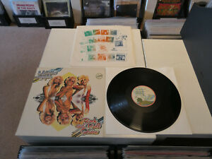 "MOTT THE HOOPLE: Rock & Roll Queen, PINK RIM ISLAND, NL 1st PRESS, 12""/ LP, MINT"