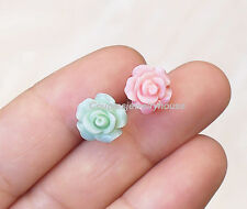 2pcs Roses  barbell cartilage Earring Tragus Helix Piercing Cartilage jewelry