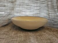 Pfaltzgraff Ocean Breeze Oval Footed Serving Vegetable Bowl USA Green Teal
