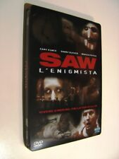 DVD - Saw. L'enigmista (2004) OTTIMO! SteelBook Metal Box Eagle RARO! James Wan