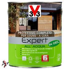 Protettivo per legno a cera V33 Expert all'acqua in Gel 750 ml
