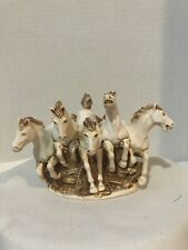 Harmony Kingdom Terra Incognita Herd of Wild Horses England Made 1997