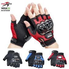 Pro-Biker Men Motorcycle Half Finger Gloves Tactical Knuckle Cycling Shooting