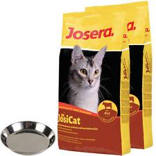 2 x 10 kg Josera JosiCat Rind + Katzennapf