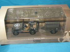 JEEP Willys MB avec sa remorque 1/43