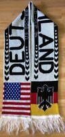 DEUTSCHLAND WORLD CUP 94 schal scarf sciarpa bufanda echarpe sjaal ultras dynamo