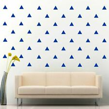 """96 of 3"""" King Blue Triangle Removable Peel & Stick Diy Wall Vinyl Decal Sticker"""