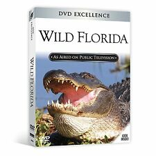 Wild Florida DVD..Panther, Alligator, Crocodile, Inc + Brand New! + Ships Fast!!