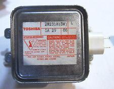 Toshiba  2M231H Magnetron   2M231    2 M 231 Mikrowellenmagnetron -     01-12-02