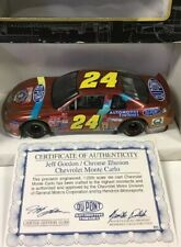 Jeff Gordon 1:25 1997 #24 Dupont Chrome Illusion 50th Anniversary Die Cast Car
