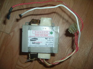 Samsung  Microwave  High-Voltage Transformer DE26-00126A  DE26-00126B Used