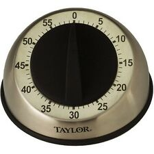Taylor Easy-Grip Mechanical Timer Cooking Baking Egg Clock