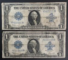 1923 $1 Silver Certificate Horse Blanket Note- Lot Of 2 (P918)