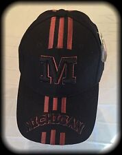 U of M Ball Cap, Black, OSFA, Michigan University, NWT 80/20 Wool/Acrylic Hat