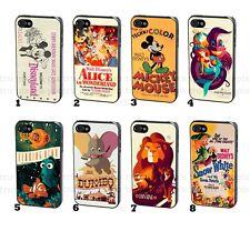 Disney Princesa Retro Vintage Movie Poster teléfono funda para iPhone y Samsung