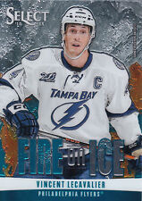 13/14 PANINI SELECT FIRE ON ICE BLUE #FS-34 VINCENT LECAVALIER LIGHTNING *21098