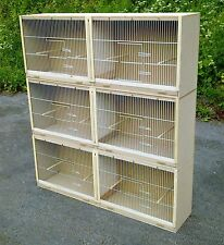 3 x Double Budgie Breeding Cages MULTIBUY OFFER!!