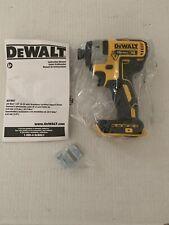 "DeWalt  DCF887B 20V MAX XR BRUSHLESS 1/4"" 3 SPEED IMPACT Driver"