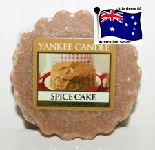 YANKEE CANDLE Tart Melt * Spice Cake * FREE Postage for ADDITIONAL TARTS