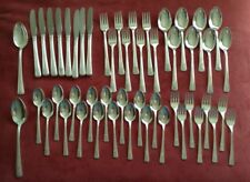 Rogers silverplate IS Louisiane 1938 8 complete place settings + 2 serving spoon