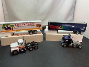 Winross Kodak & Steelcase Tractor Truck With Trailer 1/64 Diecast Lot