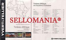 CATALOGO YVERT & TELLIER SELLOS DE AFRICA VOLUMEN II PAISES G - Z  EDICION 2018