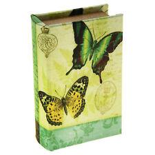 Real Book Design Safe Box Cash Money Secret Storage Hidden Home Security Jewelry