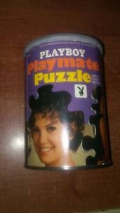 Vintage 1968 Playboy Playmate Jigsaw Puzzle Collinson Twins