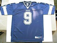 Reebok Nfl Equipment Dallas Cowboys #9 Tony Romo Football Jersey Size Xl