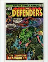 Defenders #27, VG 4.0, 1st appearance Starhawk; Hulk, Guardians of the Galaxy