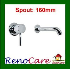 Lolly Wall Bath Flick Mixer & 160mm Bath Spout RC-3521A