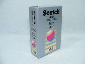 SCOTCH VHS-C EC-45 EXG+ neuve sous blister 3M VHS C Cassette video camescope
