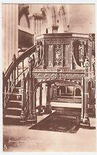 DUNFERMLINE - Bruce's Tomb / Pulpit Oak - RAPHAEL TUCK #2023 1920s era postcard