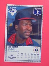 1987 KRAFT FOODS #15 JOE CARTER baseball card