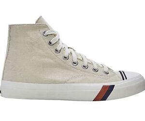 Pro Keds Royal Hi Unbleached White Beige Hi Top Sneakers PK54481