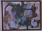 Mid Century Modern Abstract Expressionist Painting by Lee Byron Jennings,1967