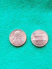 1977 D Uncirculated Lincoln Memorial Cent Penny BU