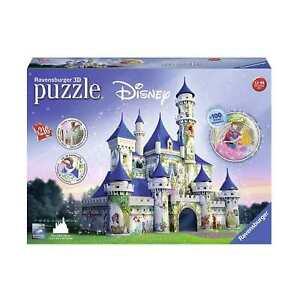 NEW! Ravensburger Disney Princesses Castle 216pc 3D Puzzle