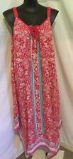 Autograph Plus Size Boho Dreams Print Trapeze Beach Holiday Sundress Dress 18