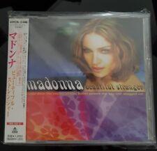 MADONNA MEGA RARE BEAUTIFUL STRANGER JAPAN CD SINGLE OBI STRIP WPCR - 10486