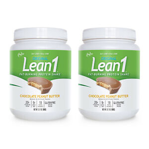 Lean1 (15-serving) chocolate peanut butter - bundle of 2 tubs