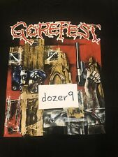 Gorefest False Vintage 1993 Tour Shirt Entombed Bolt Thrower
