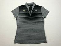 Nike Wake Forest Demon Deacons - Gray/Black Dri-Fit Polo Shirt (M) - Used