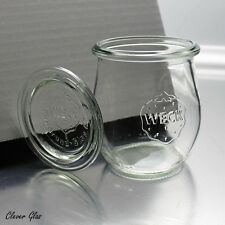 24 Weckgläser 220 ml Tulpenform RR60 mit Glasdeckel - Kostenloser Versand
