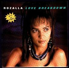 "ROZALLA - SPAIN 7"" BYN 1992 - LOVE BREAKDOWN - PROMO SINGLE 45 RPM"