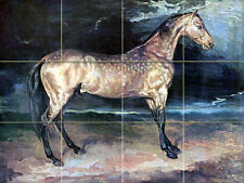 Art Horse Wildlife Ceramic Mural Backsplash Bath Tile #2141